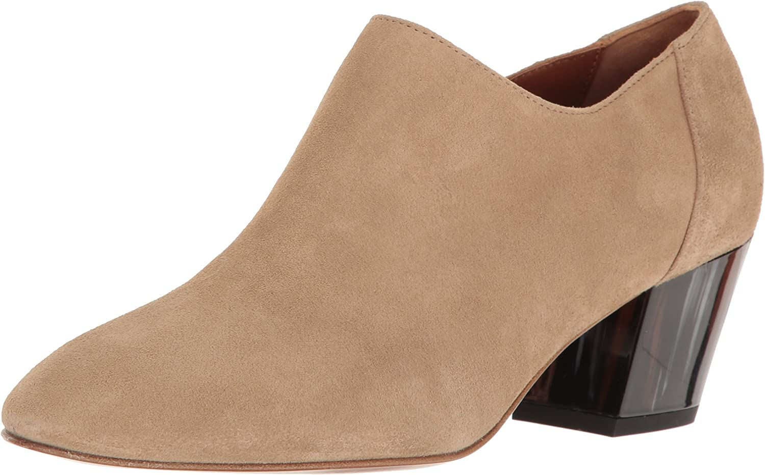 Aquatalia Womens Fawna Dress Suede Ankle Bootie