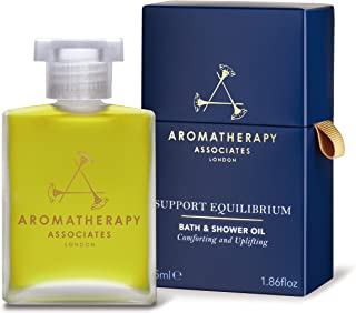 Aromatherapy Associates Support Equilibrium Bath and Shower Oil 1.86Floz, an uplifting blend of Geranium, Rose and Frankin...