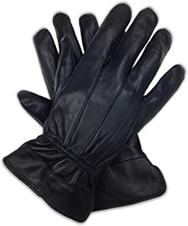 Luxury Soft Men's Genuine Nappa Sheepskin Leather with 3M Thinsulate Gloves