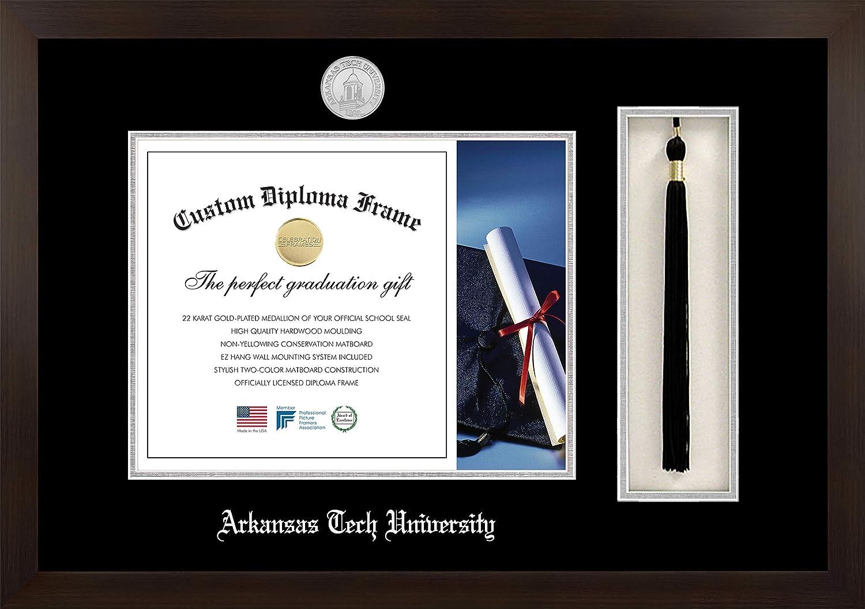 Celebration Frames Infinity Houston Mall Diploma Award Mahogany Frame