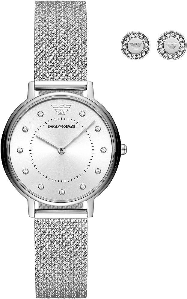 emporio armani orologio analogico quarzo donna ar80029