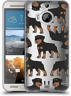 Head Case Designs 繝ュ繝・ヨ繝ッ繧、繝ゥ繝シ 繝峨ャ繧ー繝悶Μ繝シ繝峨・繝代ち繝シ繝ウ ・・HTC One M9+ 蟆ら畑繧ス繝輔ヨ繧ク繧ァ繝ォ繧ア繝シ繧ケ