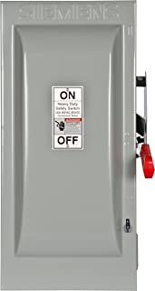 Siemens HF363 100-Amp 3 Pole 600-volt 3 Wire Fused Heavy Duty Safety Switches