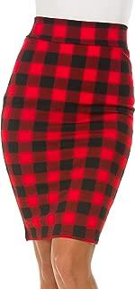Best christmas plaid pencil skirt Reviews