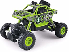 The Flyers Bay Rock Crawler The Mean Machine 1:20 Scale 4 WD Rally Car, Green