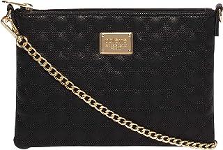 Black Diamond Quilt Crossbody Bag