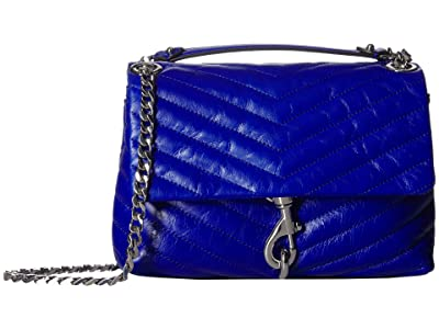 Rebecca Minkoff Edie Crossbody (Bright Blue) Cross Body Handbags