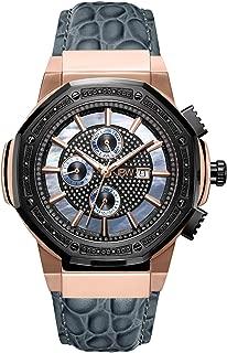Jbw Dress Watch For Men Analog Genuine Leather Watch - Jb-6101L-10C