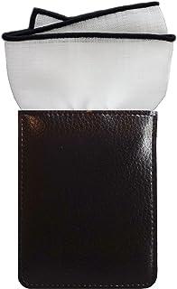 ポケットチーフ (フィックスポン) FixPon スクエア メンズ 麻 パイピング 全13色
