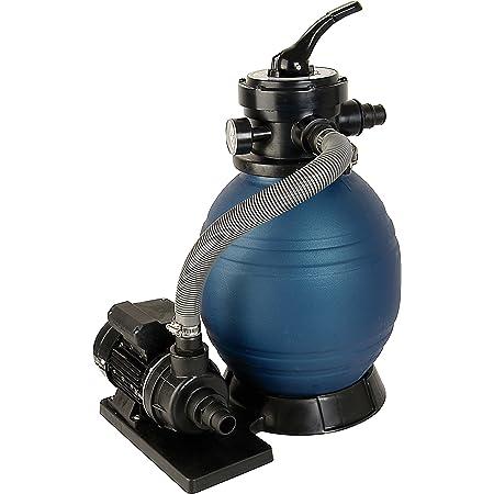 T.I.P. Ensemble de filtres pour piscine système de filtre à sable SPF 180, jusqu'à 4500 l / h
