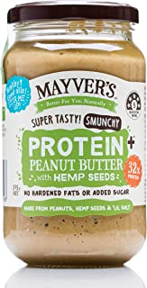 Mayver's Smunchy Protein+ Peanut Butter with Hemp Seeds 375 g
