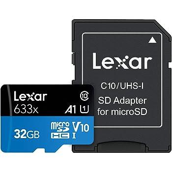 Lexar 633x 32GB MicroSDHC UHS-I Tarjeta de Alto Rendimiento