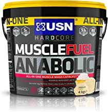 USN Muscle Fuel Anabolic Vanilla Lean Muscle Gain Shake Powder 4000 g Estimated Price : £ 44,99