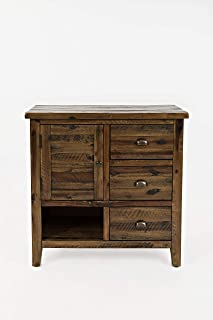 Jofran 1742-32 Artisan's Craft Accent Chest Dakota Oak, 32