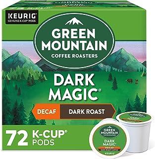 Green Mountain Coffee Roasters Dark Magic Decaf, Single-Serve Keurig K-Cup Pods, Dark..