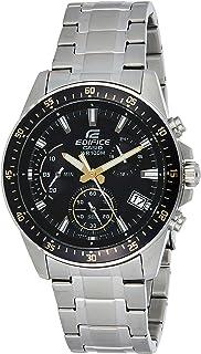 ساعة كوارتز للرجال من كاسيو شاشة انالوج وحزام من الستانلس ستيل EFV-540D-1A9
