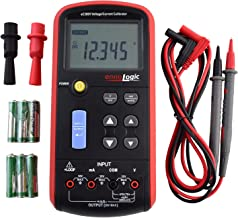 Volt mA Loop Process Calibrator - 0-20V and 4-20mA Signal Generator Simulator – Portable Precision Volt Millivolt and mA Generator and Meter for Transmitters, Current Loops, PLC and Process Devices