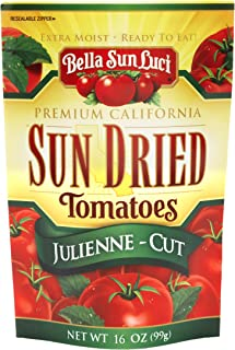 16 oz Bella Sun Luci Sun Dried Tomatoes Julienne Cut
