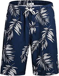 Mens Swim Trunks Quick Dry Bathing Suits Beach Holiday Party Swim Shorts No Mesh