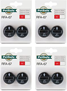 Best 8 PACK PETSAFE BATTERY RFA-67D-11 RFA-67 8 X 6V BATTERIES FOR PIF-300 RF300 PIF-275-19 PRF-3004W PUL-250 Review