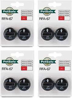 8 PACK PETSAFE BATTERY RFA-67D-11 RFA-67 8 X 6V BATTERIES FOR PIF-300 RF300 PIF-275-19 PRF-3004W PUL-250