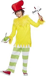 Spirit Halloween Kids Sam I Am Dr. Seuss Costume | Officially Licensed