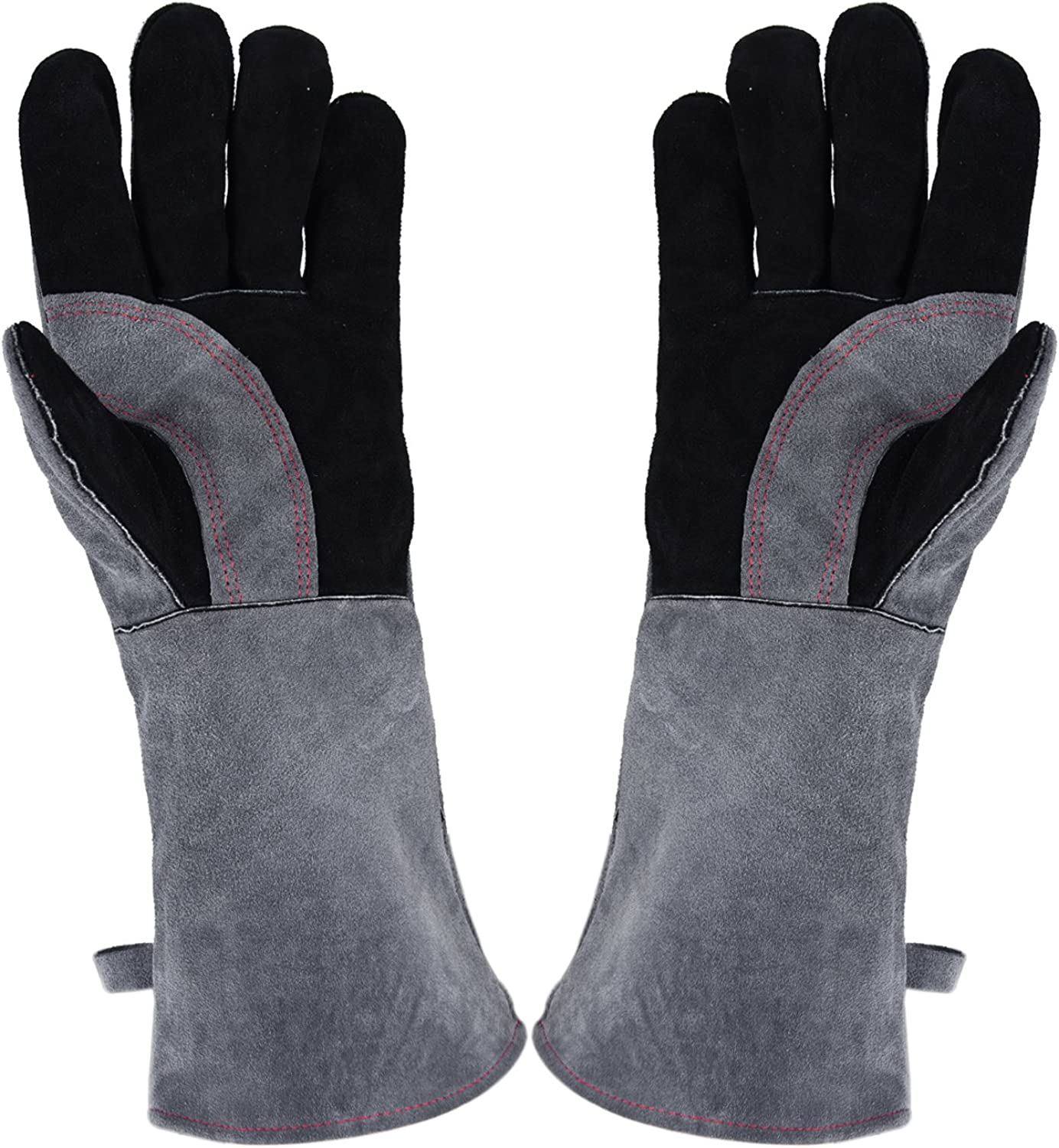 PlasMaller 16 Inches 932℉ Leather Forge Recommendation Gloves Welding w Online limited product