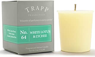 Trapp Signature Home Collection – No. 64 White Lotus & Lychee Votive Scented..