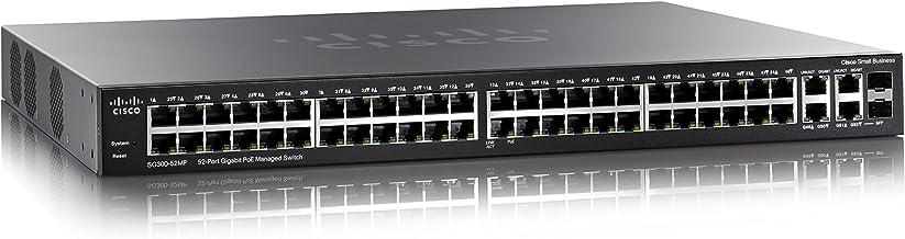 Cisco SB 300 series managed SFP switch 52-port Gigabit Max-PoE, SG300-52MP-K9-EU (52-port Gigabit Max-PoE)