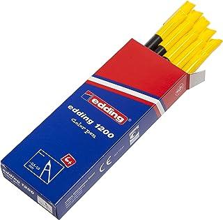 Edding 1200-005 - Rotulador con punta de fibra, 10 unidades,