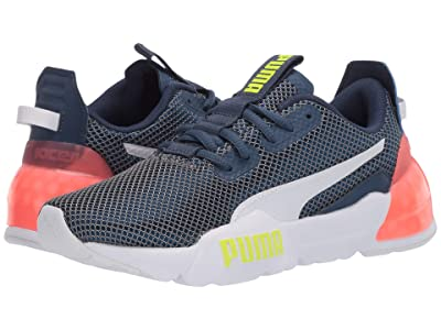 PUMA Kids Cell Phase (Big Kid) (Dark Denim/White) Boys Shoes
