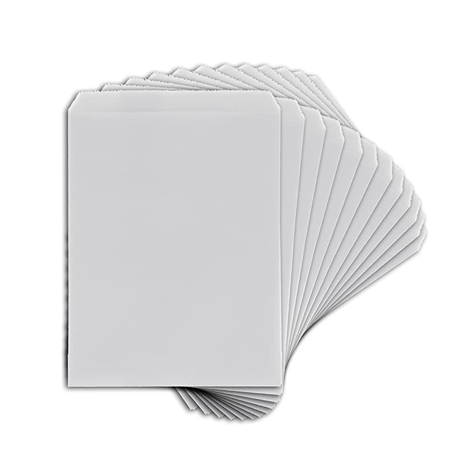 Toga emb036?Pack of 12?Plain White Paper Bags 10?x 15?x 0.2?cm f228496632