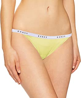 Bonds Women's Underwear Cotton Blend Originals String Bikini Brief