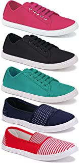 Camfoot Women's (5006-5001-5004-11021-11031) Casual Sneaker Loafer Shoes