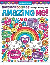 Notebook Doodles Amazing Me!: Coloring & Activity Book (Design Originals) 32 Inspiring Designs; Beginner-Friendly Empowering Art Activities for Tweens, on High-Quality Extra-Thick Perforated Paper