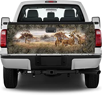 Camo Camouflage Tailgate Wrap Vinyl Graphic Decal Sticker Truck