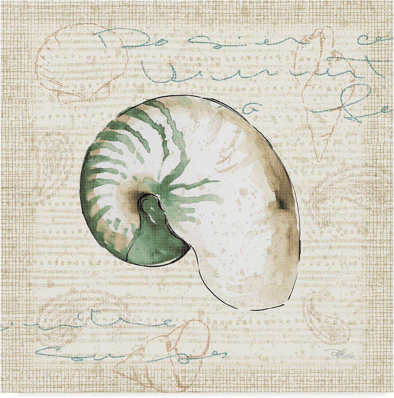 Trademark Fine Art Ocean Prints III by Pela Studio, 14x14 Fine Art, Multicolor