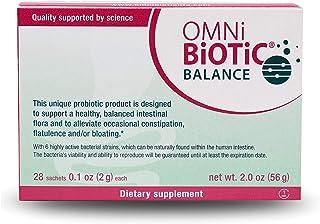 OMNi-BiOTiC Balance Probiotic Immune Support - Bifidobacterium & Lactobacillus - Hypoallergenic - Immune Booster Supplemen...