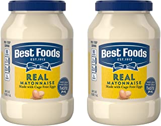 Best Foods Real Mayonnaise Gluten Free 48 oz, Twin Pack