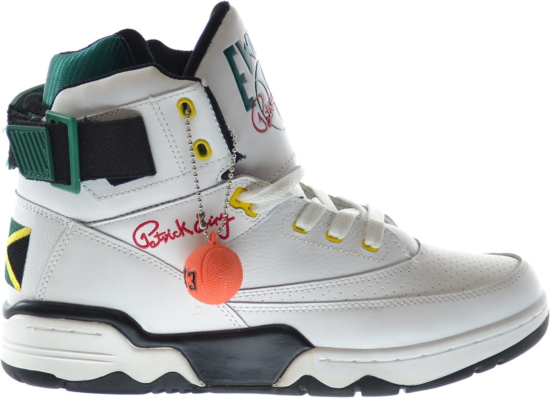 eWing 33 Hi Jamaica Men's Basketball Shoes Black White red Yello Gorgeous Brand Cheap Sale Venue