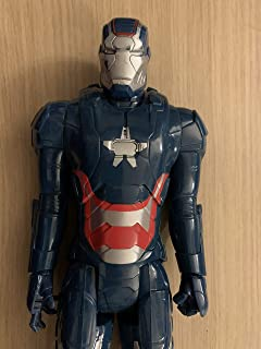 Titan Hero Series Iron Patriot War Machine 12 Inch Tall Action Figure from Marvel Avengers