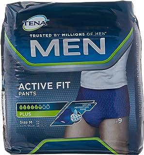 Tena, Active Fit Pants, Windelhose für Herren, Größe M, 36 4x9