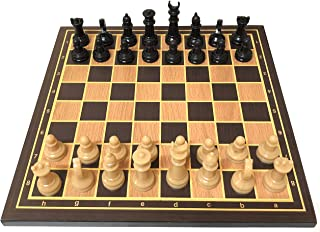 Chess Set for Kids Adults, Wooden Chess Board, Fancy Unique Chess Sets Pieces, Modern Tournament Chess Set for Beginners, ...