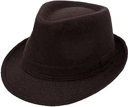 Simplicity Unisex Timelessly Classic Manhattan Fedora Hat