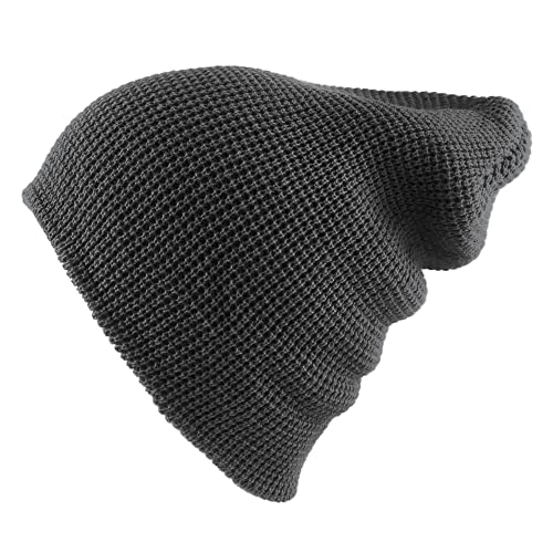 7fd482d2ee2 Morehats Waffle Knit Soft Beanie Warm Winter Ski Skater Hip-hop Hat