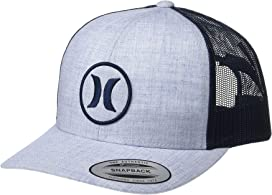size 40 bd3f5 69710 Hurley One and Textures Trucker Hat at Zappos.com