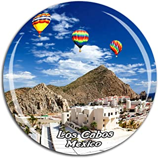 Cabo San Lucas Los Cabos Mexico Fridge Magnet 3D Crystal Glass Tourist City Travel Souvenir Collection Gift Strong Refrigerator Sticker