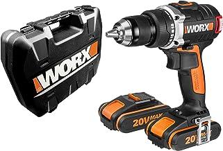 WORX WX175 Taladro Atornillador, 40 W, 20 V, Negro