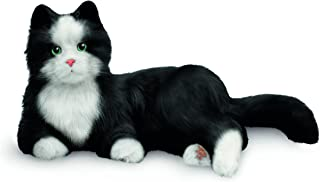 JOY FOR ALL Ageless Innovation Companion Pets | Black & White Tuxedo Cat | Lifelike & Realistic