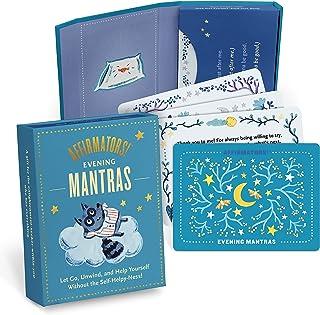 Affirmators! Mantras Evening - Night Affirmation Cards Deck, Positive Affirmations & Meditation Cards (30 Cards Deck)
